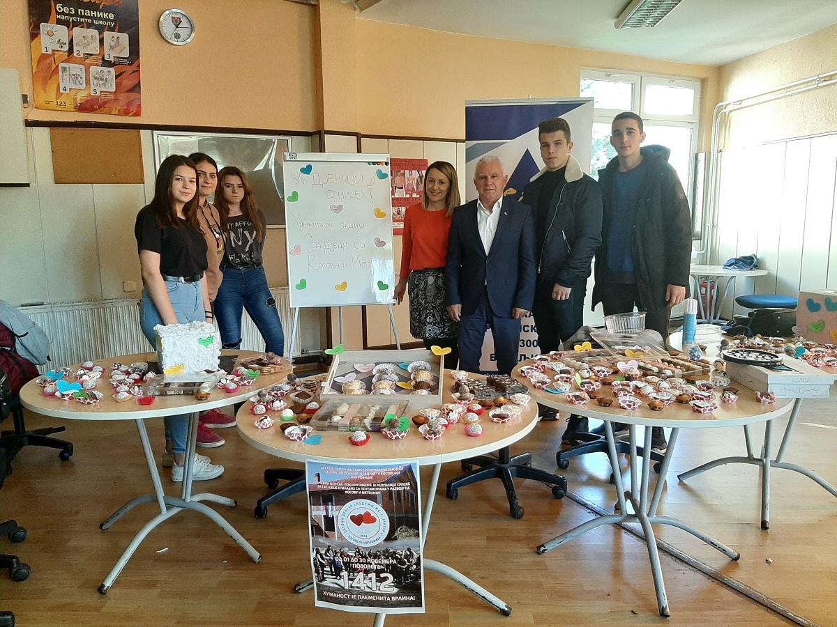 Pomoć Srbima na KiM od prodaje kolača