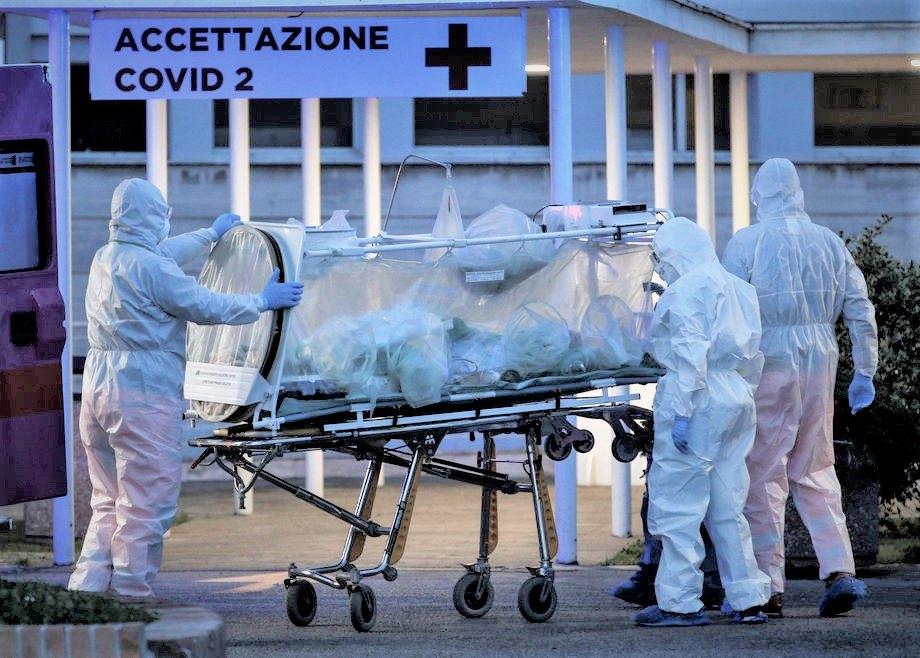 Evropa: Pogoršava se epidemiološka situacija u Italiji,u Nemačkoj preminule još 1.083 osobe