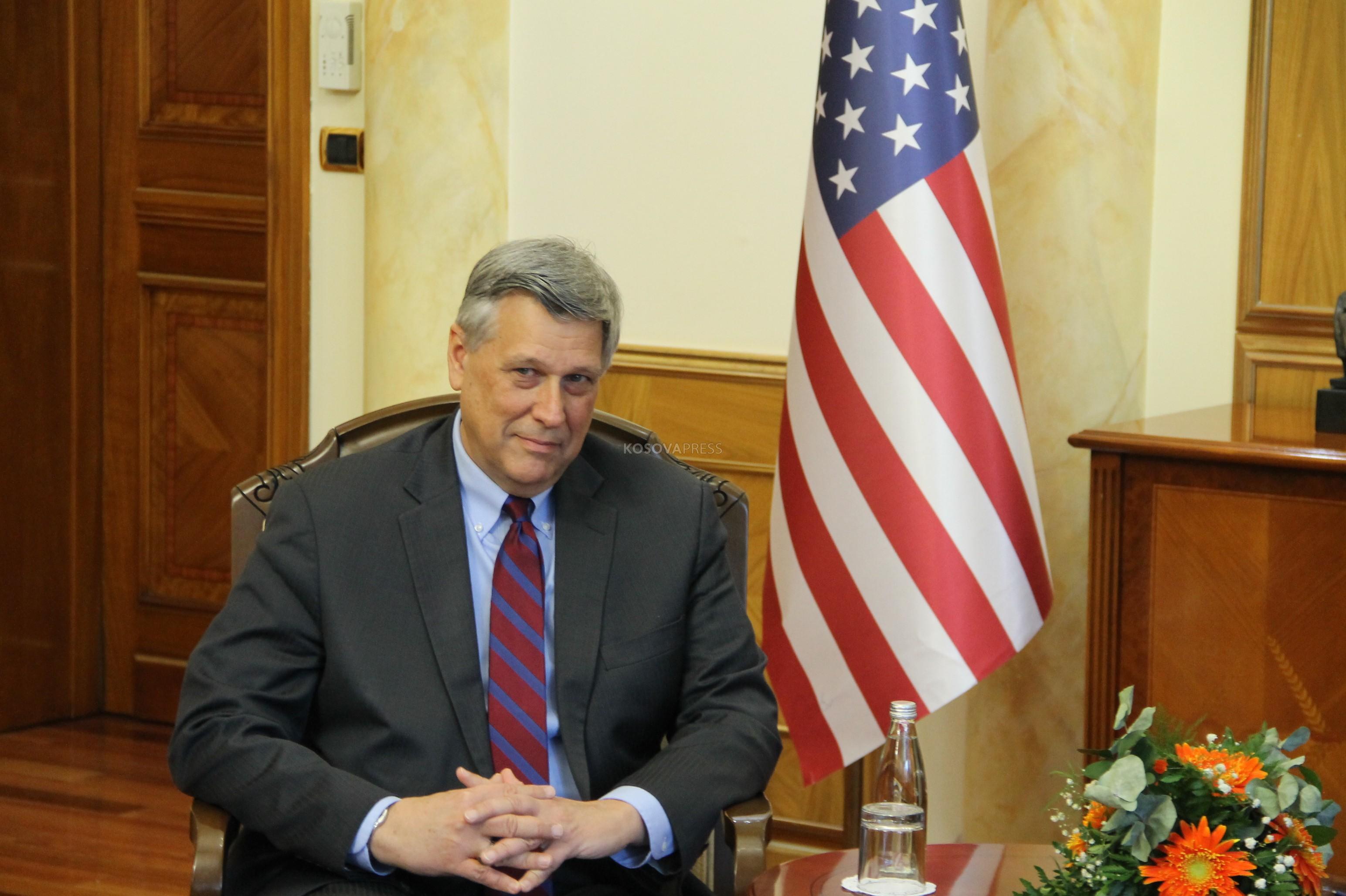 Kosnet nakon susreta sa Lajčakom: SAD i EU imaju zajednički cilj u dijalogu Beograda i Prištine