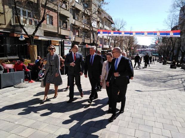 Kosnet u Severnoj Mitrovici sa liderima Srpske liste