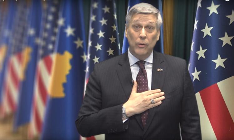 Američki ambasador Kosnet pozdravio raspuštanje Skupštine Kosova