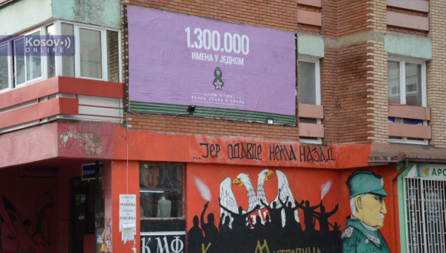 Bilbordi povodom Dana primirja postavljeni na severu Kosova