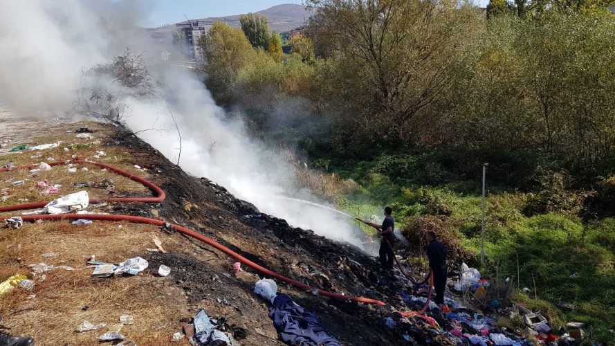 Lokalizovan požar u Severnoj Mitrovici pored reke Ibar