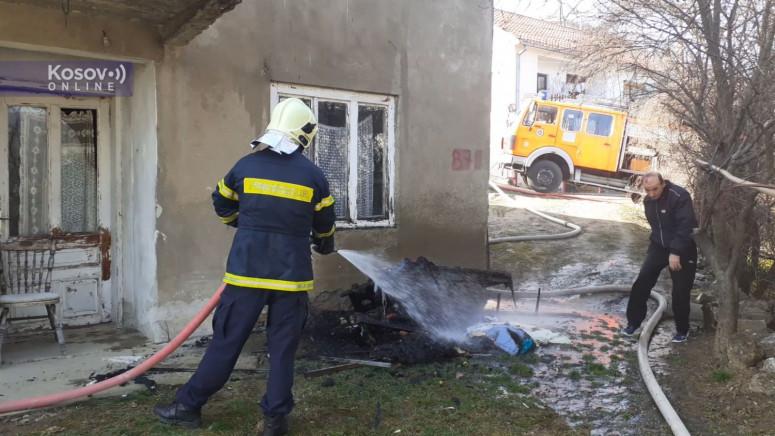 Povređena jedna osoba u požaru u Prištini