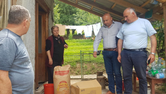 Pomoć za Srbe u selu Binač