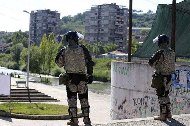 Albanski vojnici u društvu pripadnika Kfora na severu KiM  VIDEO