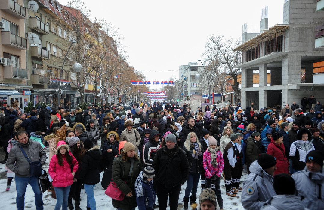 Kozarev u K. Mitrovici: Čeka nas teška, ali prosperitetna godina