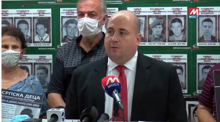 Kozarev: Pravde nema samo za Srbe i kosmetske žrtve (video)