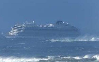 Spaseni putnici sa kruzera kod obala Norveške