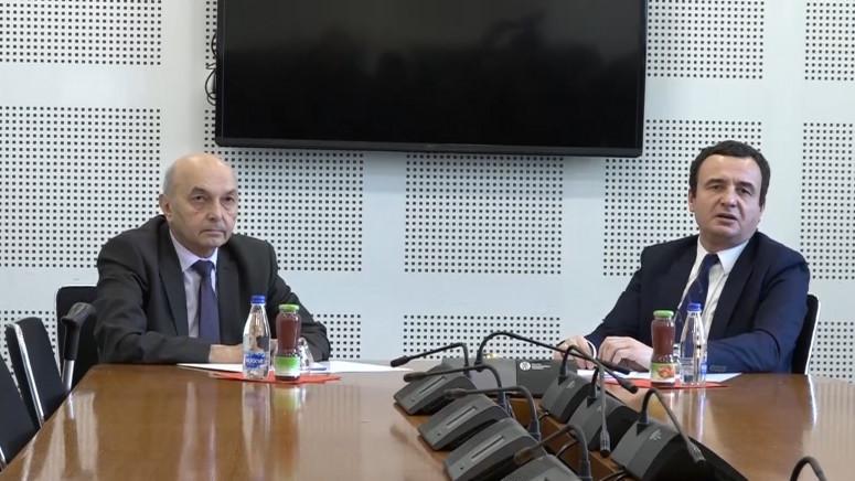 Sastali se Kurti i Mustafa, razgovaraju o ukidanju taksi