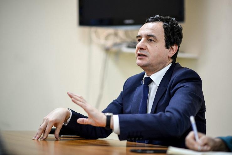 Kurti govoreći o Skenderbegu poslao poruku DSK