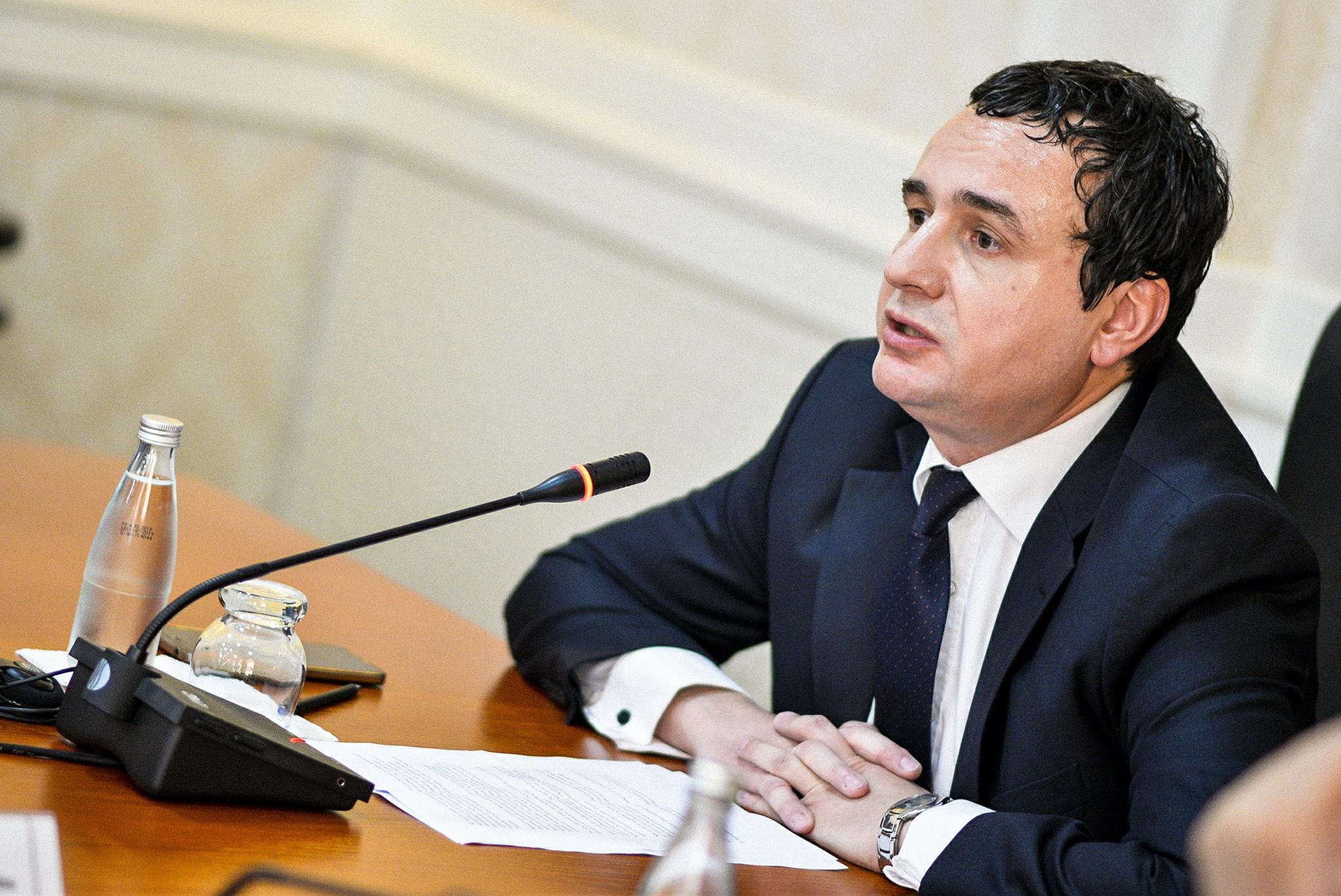 Kurti: Grenel je na pozicijama Beograda