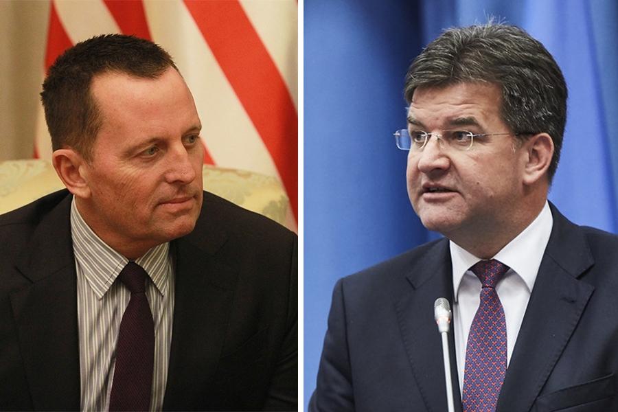 Lajčak i Grenel zajedno u dijalogu, odluka je Beograda i Prištine