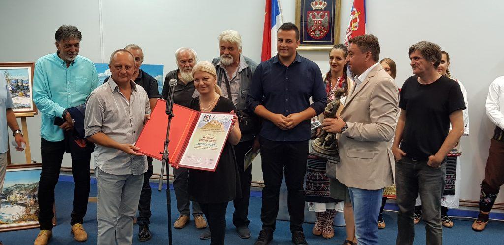 """Ovogodišnji laureat likovne kolonije """"Sokolica 2019"""" Đorđe Stanić"""
