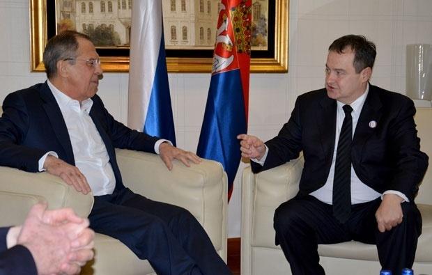 Počeo sastanak Dačića i Lavrova u Moskvi