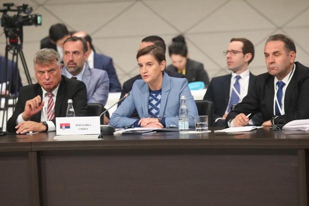 Brnabić: Brisel potvrdio da sporazum sa EAEU ne pravi problem