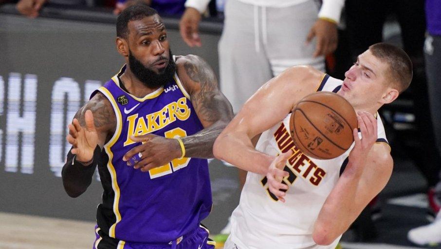Lejkersi pobedili Denver za veliko finale NBA lige