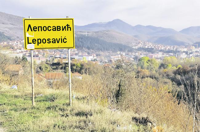 Opština Leposavić u žutoj zoni