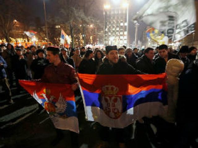 Litija i moleban u Beogradu, podrška vernicima SPC u Crnoj Gori