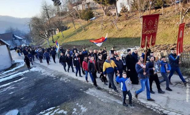 Litije u Crnoj Gori, najduža trasa 50 kilometara