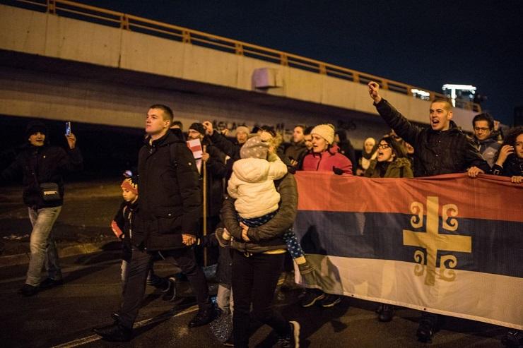 Beograd: Litije za spas srpskog naroda i Crkve