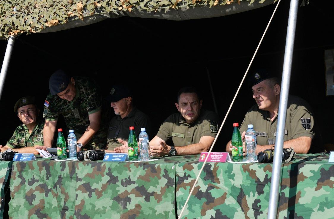 Vulin: Vojska Srbije se neprekidno razvija i jača