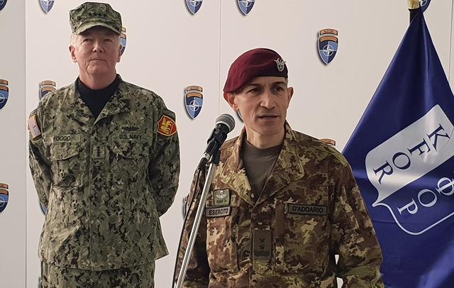 D'adario: KFOR obezbeđuje sigurno okruženje za narod Kosova