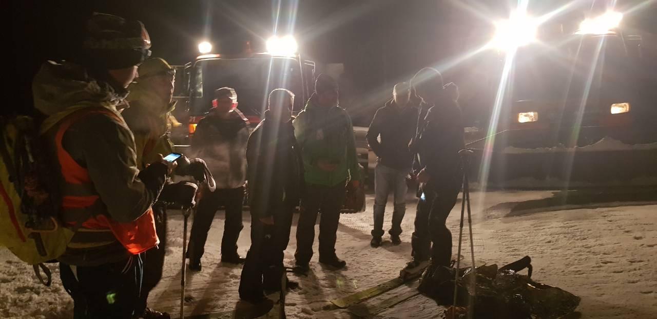 Na Ski-centru Brezovica spašen nemački turista koji se na najvišem vrhu juče zaglavio u magli