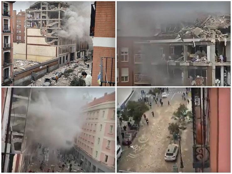 Snažna eksplozija u Madridu, ima povređenih