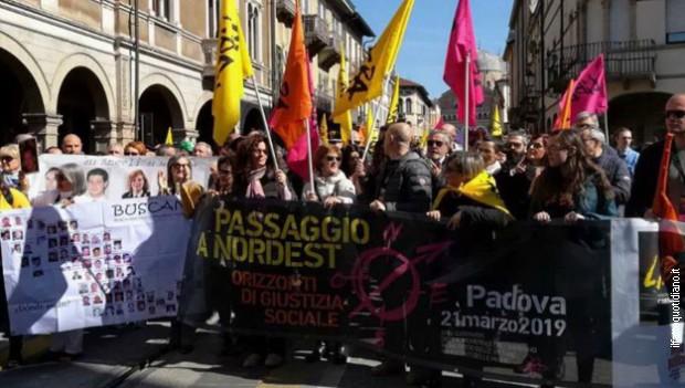 Protest protiv mafije u Padovi