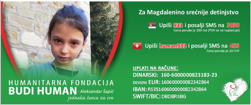 Na Uskršnjem vašaru u Zubinom Potoku prikupljeno preko 200.000 dinara za Magdalenu