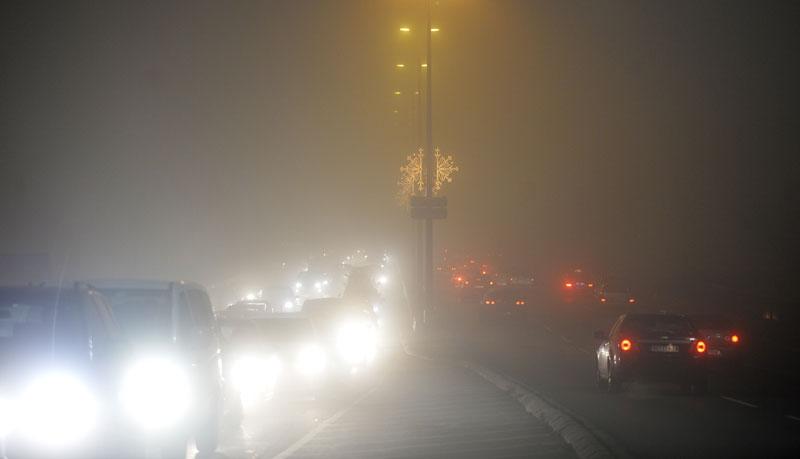 Manje magle, oblačno i vetrovito, do šest stepeni