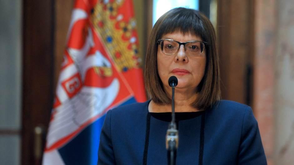 Gojković: Pozivanje na ubistvo predsednika se ne sme tolerisati