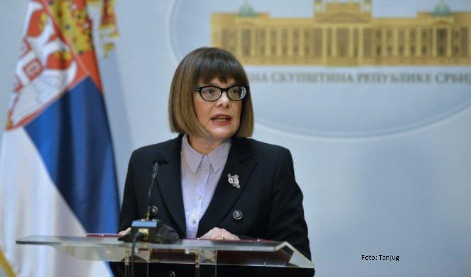 Gojković: Ustav ne dozvoljava da se izbori održe na jesen