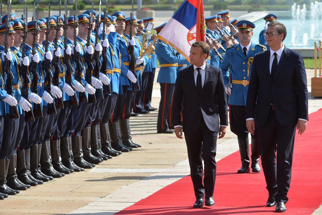 Svetski mediji o poseti francuskog predsednika: Da li je Makron prosrpski nastrojen?