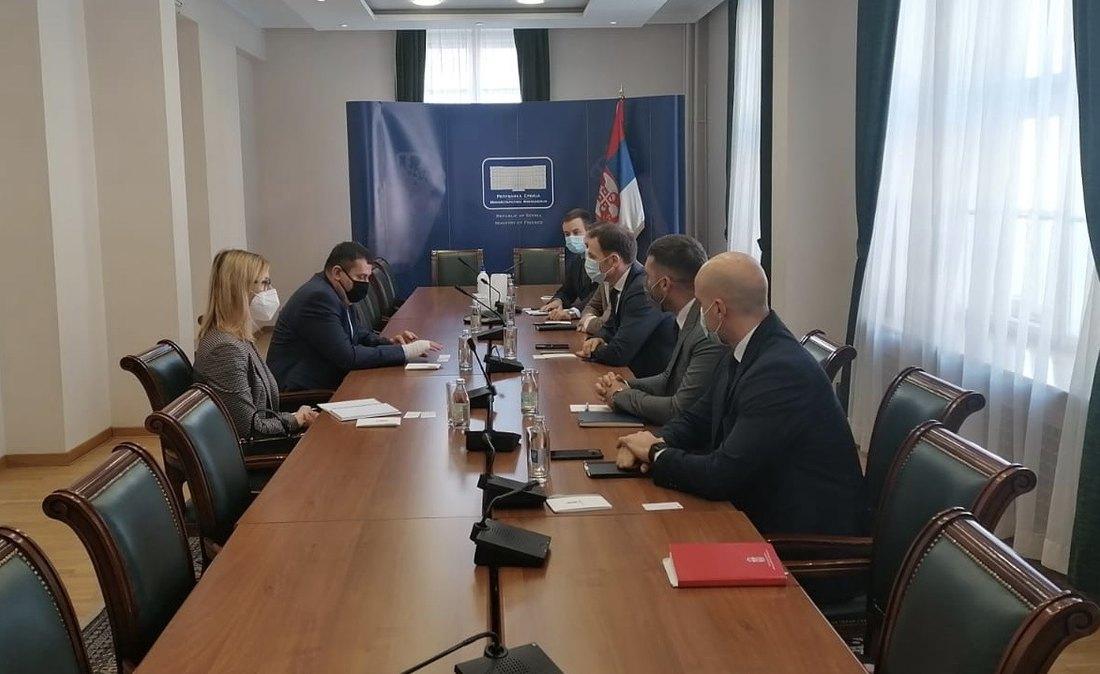 Ministar Siniša Mali razgovarao sa ambasadorom Mađarske