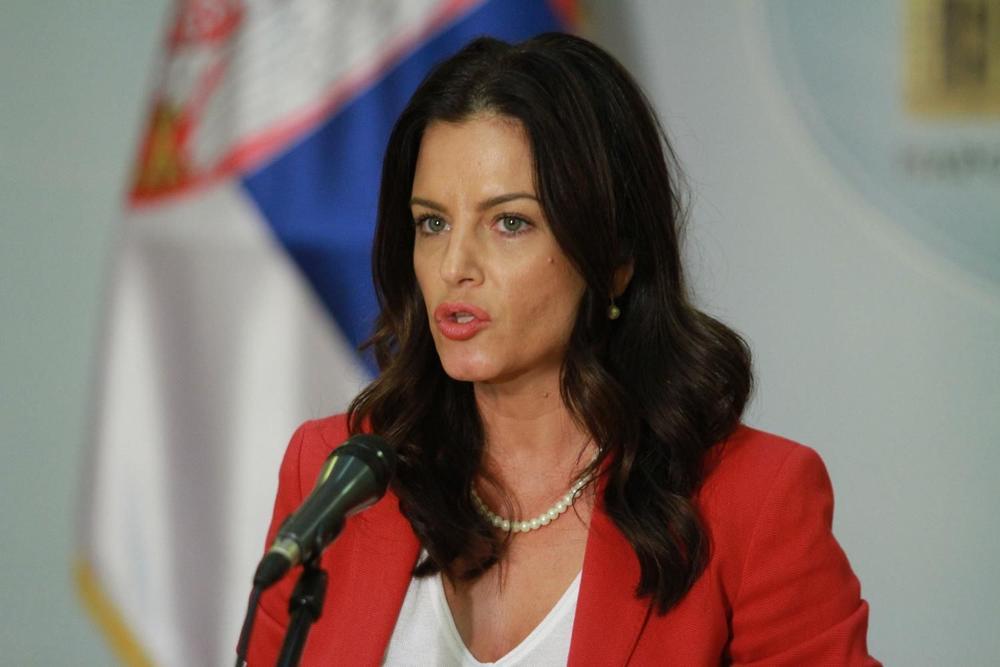 Ministarka Obradović sa šefom Misije Saveta Evrope u Srbiji