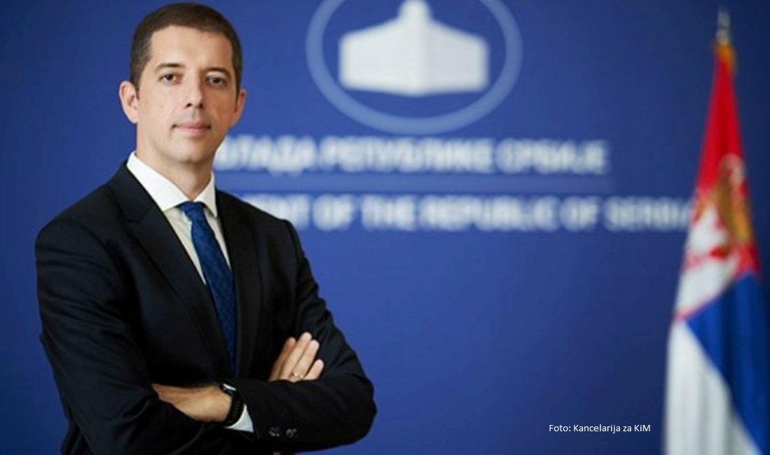 Đurić: Zaustaviti etnički motivisano nasilje nad Srbima na KiM