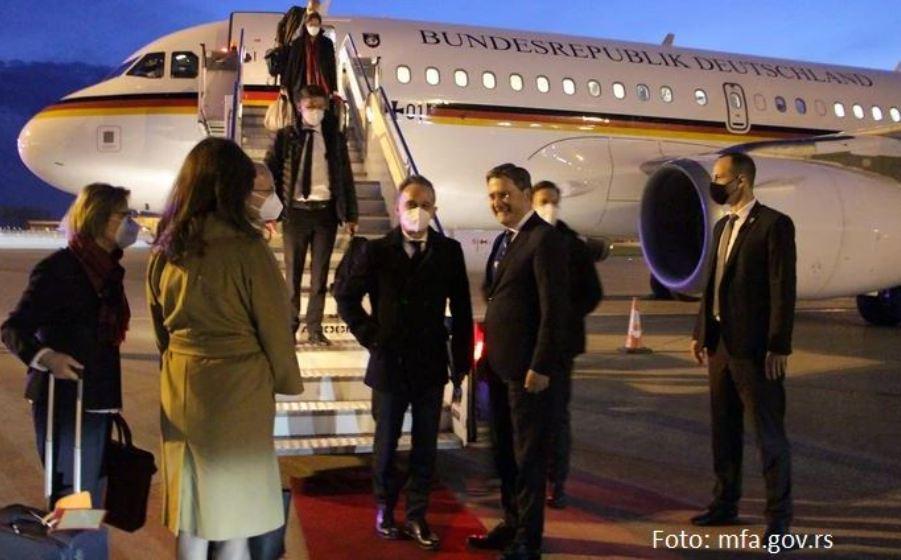 Hajko Mas doputovao u zvaničnu posetu Srbiji