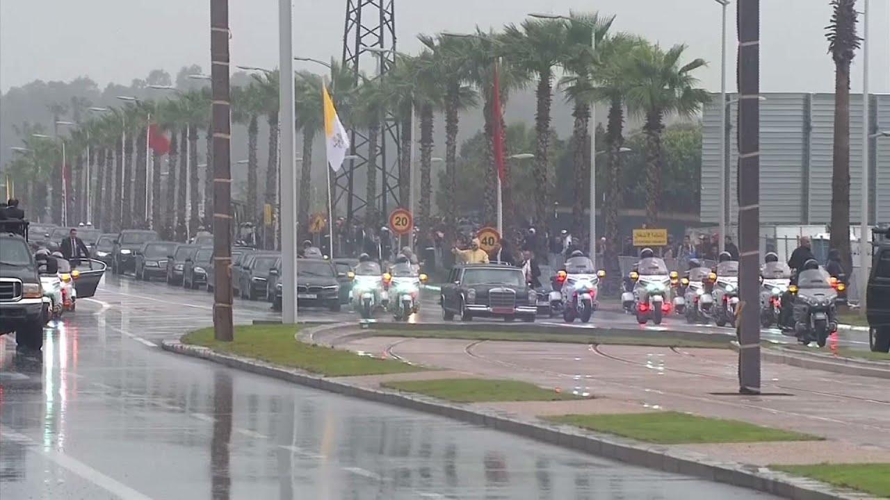 Incident tokom posete pape Maroku VIDEO