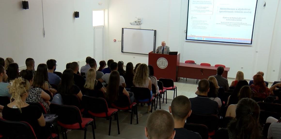 KM: Predavanje o dijabetesu na Medicinskom fakultetu