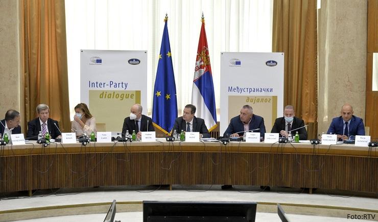 Međustranački dijalog završen, očekuje se pres konferencija