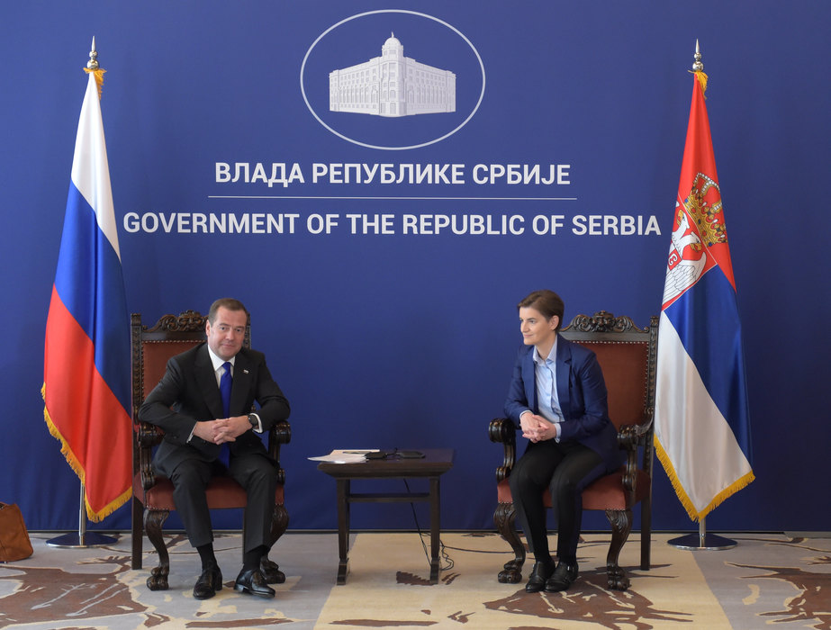 Brnabić i Medvedev: Poseta potvrda dobrih odnosa Srbije i Rusije