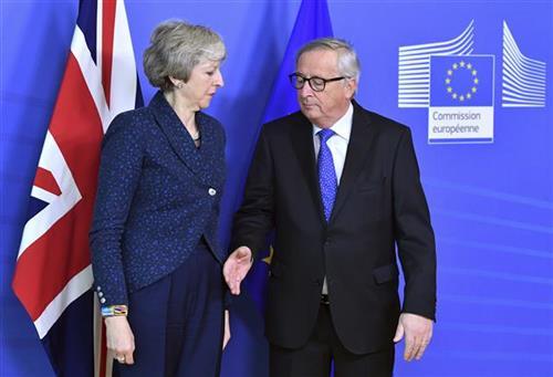 Tereza Mej stigla u sedište Evropske unije u Briselu