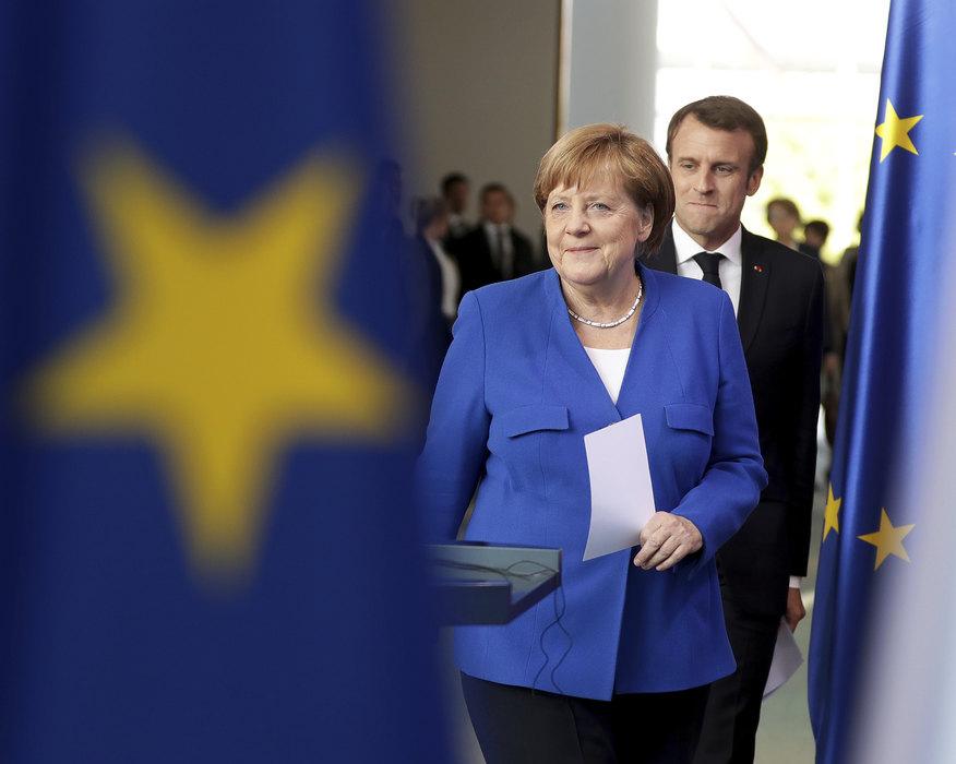 Merkel: Danas otvorena diskusija, a ne donošenje odluka; Makron: Obnoviti dijalog