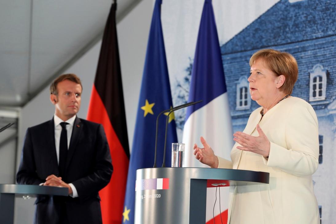 Sastanak Merkelove i Makrona uoči početka nemačkog predsedavanja