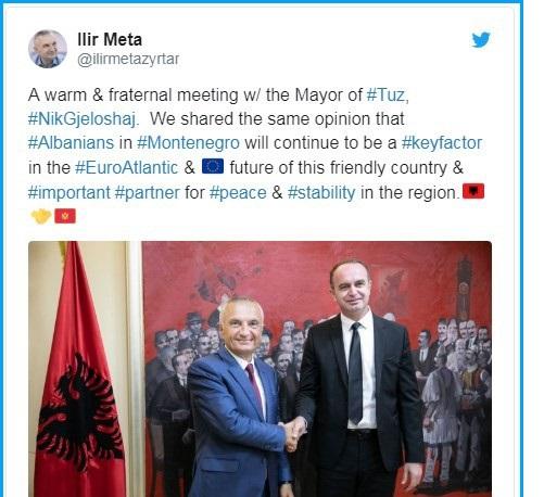 Meta: Albanci ključni faktor evroatlantske budućnosti Crne Gore