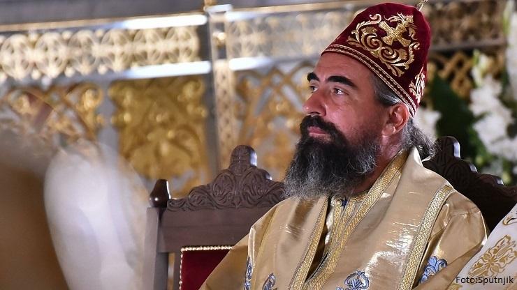 Metodije ustoličen u manastiru Đurđevi Stupovi