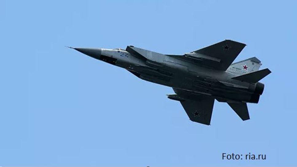 Ruski MiG-31 presreo američki patrolni avion