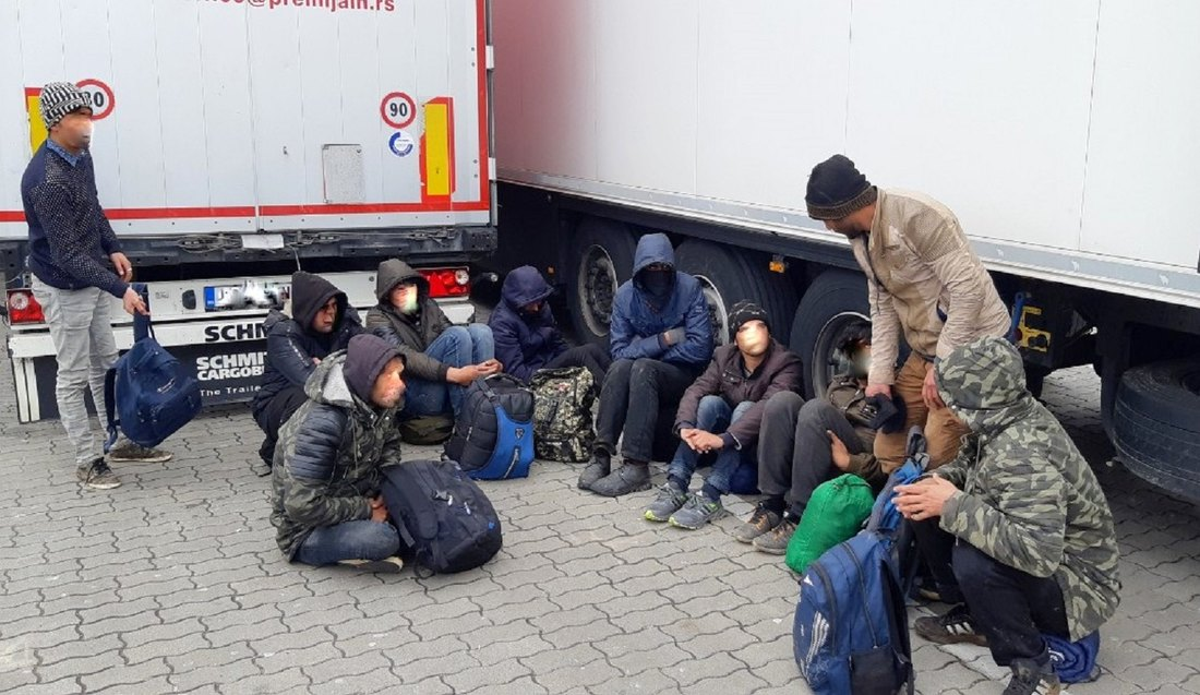 Od početka godine 700 migranata pokušalo ilegalan prelazak granice